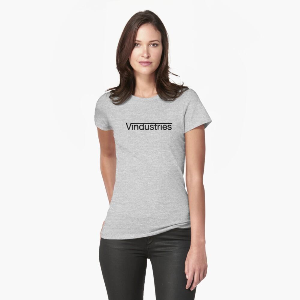 Vindustries - Titanfall (Schwarz) Tailliertes T-Shirt