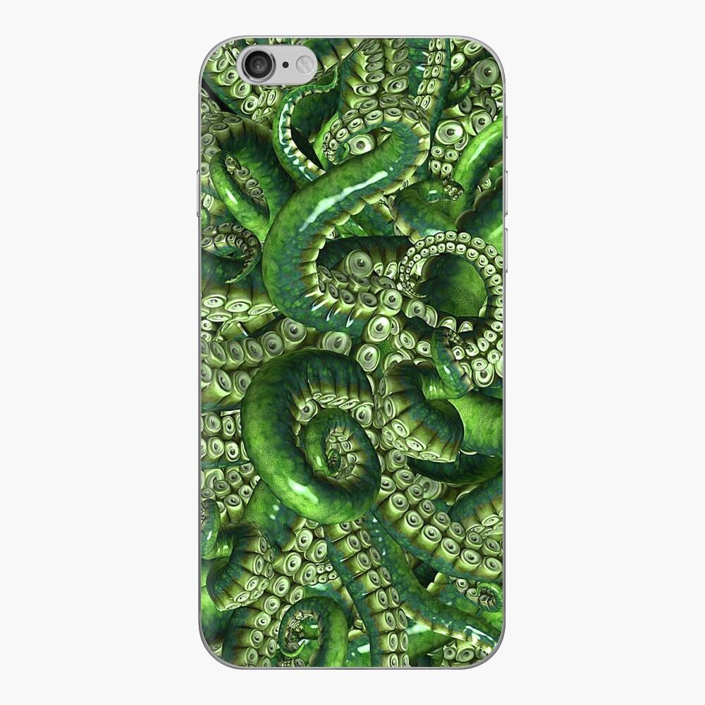 Suckers en verde Vinilo para iPhone