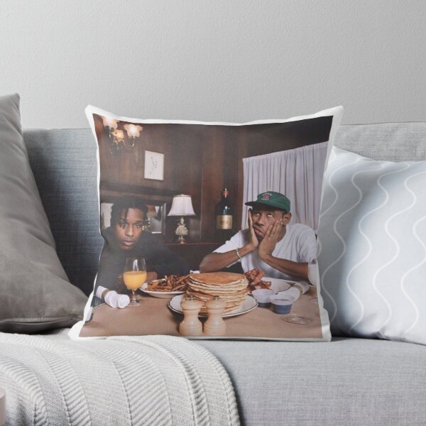 Asap & Tyler Throw Pillow