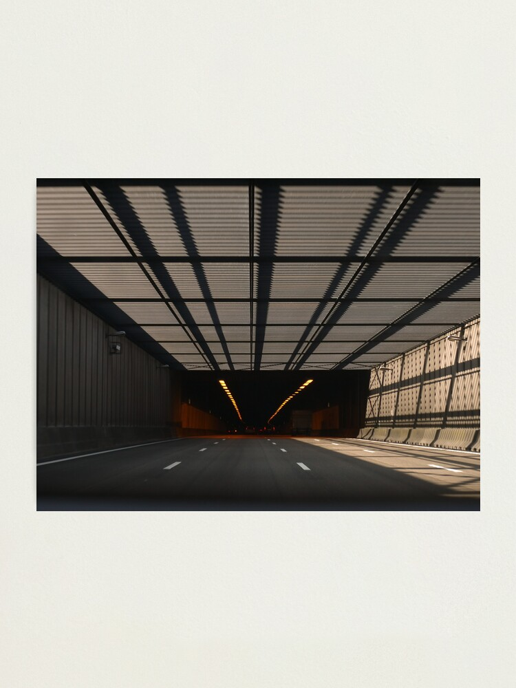 Alternate view of Entering the tunnel Photographic Print