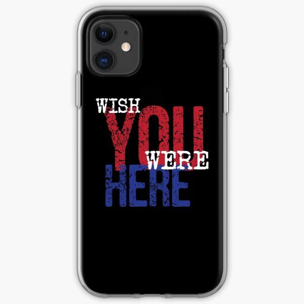 Pink Floyd - Wish You Were Here iPhone Soft Case