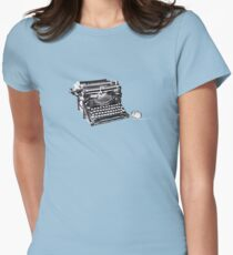 The original keyboard and mouse Women's Fitted T-Shirt