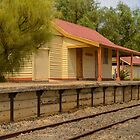 Robinvale Railway Station 1 by Werner Padarin