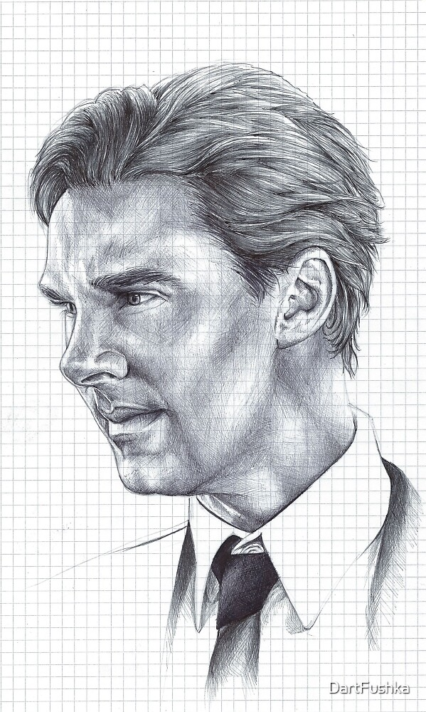 Benedict Cumberbatch by DartFushka