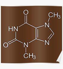 Chocolate molecule Poster