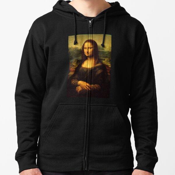 Mona Lisa Original Zipped Hoodie
