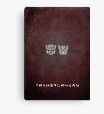 Transformers Canvas Print
