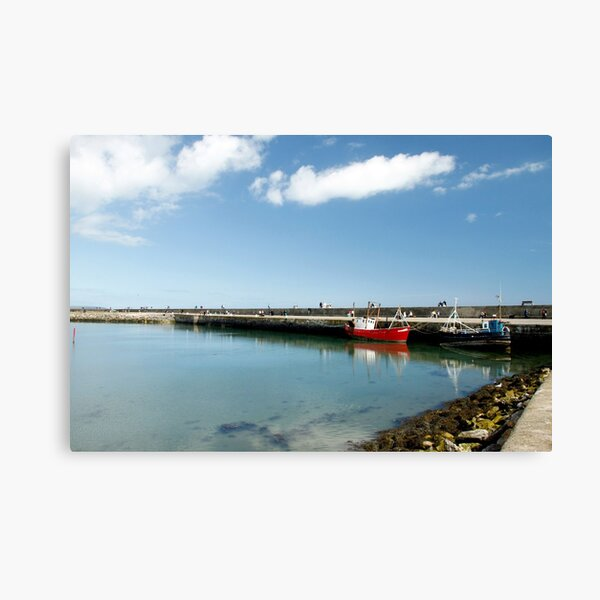 Howth Harbour 2010 Canvas Print