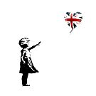 Banksy gave free art to people who don't vote Tory by OOMPHDESIGNPRIN