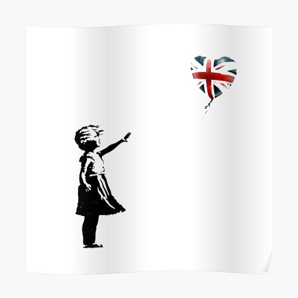 Banksy gave free art to people who don't vote Tory Poster