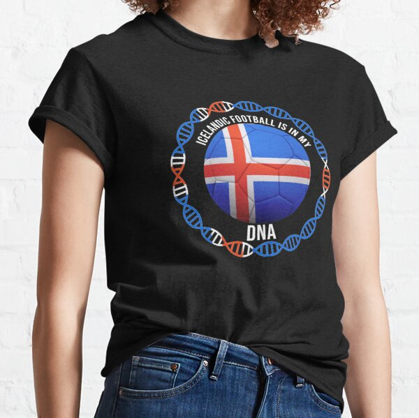 Iceland Flag T-shirt National Team Country Supporter ISL