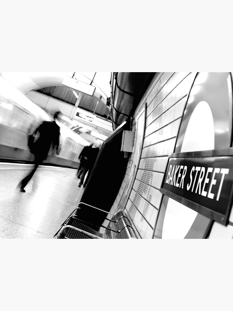Baker Street Underground in London by doug88888