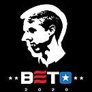 Beto O'Rourke for President 2020 Blue Star by Corpus080
