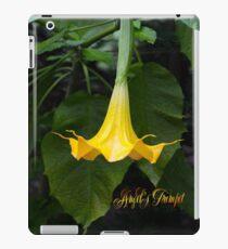 Angel's Trumpet iPad Case/Skin