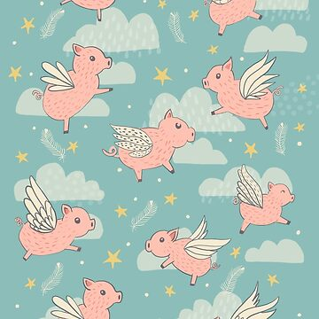 When Pigs Fly by latheandquill