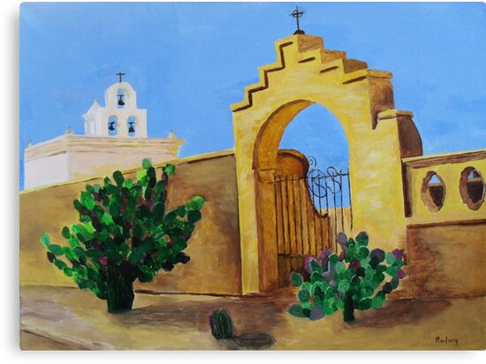 Mission San Xavier by Rodney Campbell