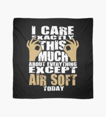 Air Soft Lover Caring Funny Quote  Scarf