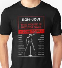 BONJOVI WORLD TOUR 2019 Slim Fit T-Shirt