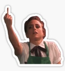 The Guy Who Didn't Like Musicals — Emma Flip Off Sticker