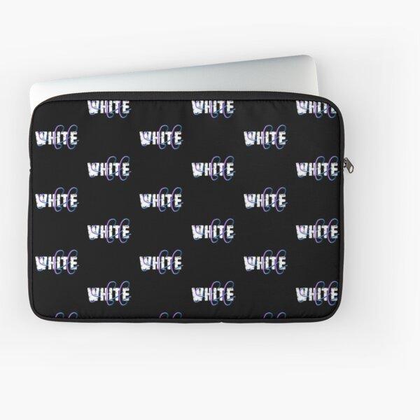 Blanc Cassé Housse d'ordinateur
