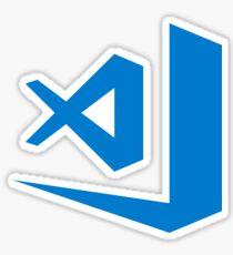 Visual Studio Code logo Sticker
