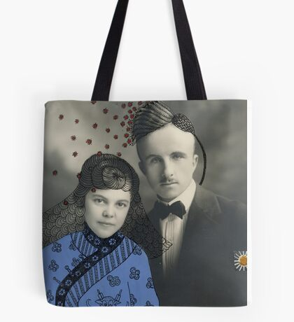 Wedding with Pollen Tote Bag