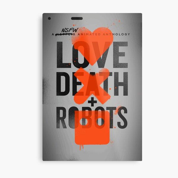 Death /& Robots NSFW Vinyl Decal Sticker Love