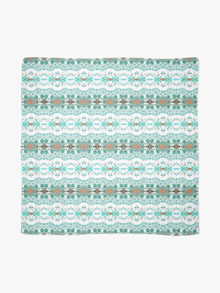 Alternate view of textile, pattern, abstract, decoration, design, illustration, repetition, art, wool, fashion Scarf