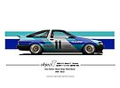 Object T AE86 - JTC - 1986 by kanseigazou
