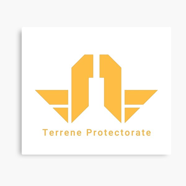 Starbound Terrenne Protectorate Canvas Print