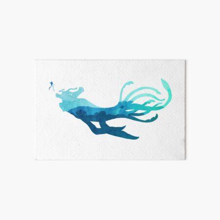 Subnautica - Sea Emperor Encounter Art Board Print