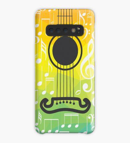 Polygonale Gitarre Hülle & Klebefolie für Samsung Galaxy