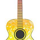 Polygonal Guitar by AnnArtshock