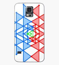 hebraic, symbol, illustration, shape, vector, design, internet, crystal, utopia, pyramid, triangle shape, geometric shape Case/Skin for Samsung Galaxy