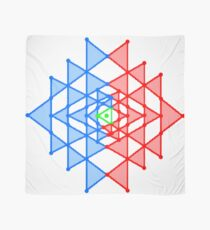 hebraic, symbol, illustration, shape, vector, design, internet, crystal, utopia, pyramid, triangle shape, geometric shape Scarf