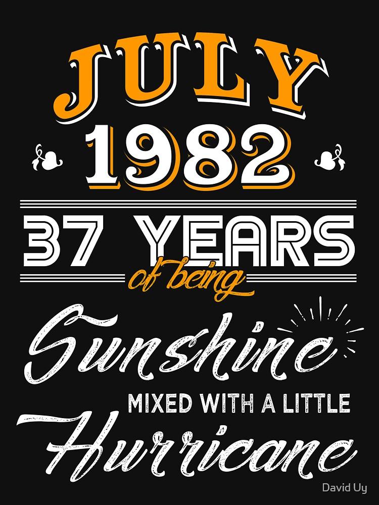 July 1982 Birthday Gifts - July 1982 Celebration Gifts - Awesome Since July 1982 by daviduy