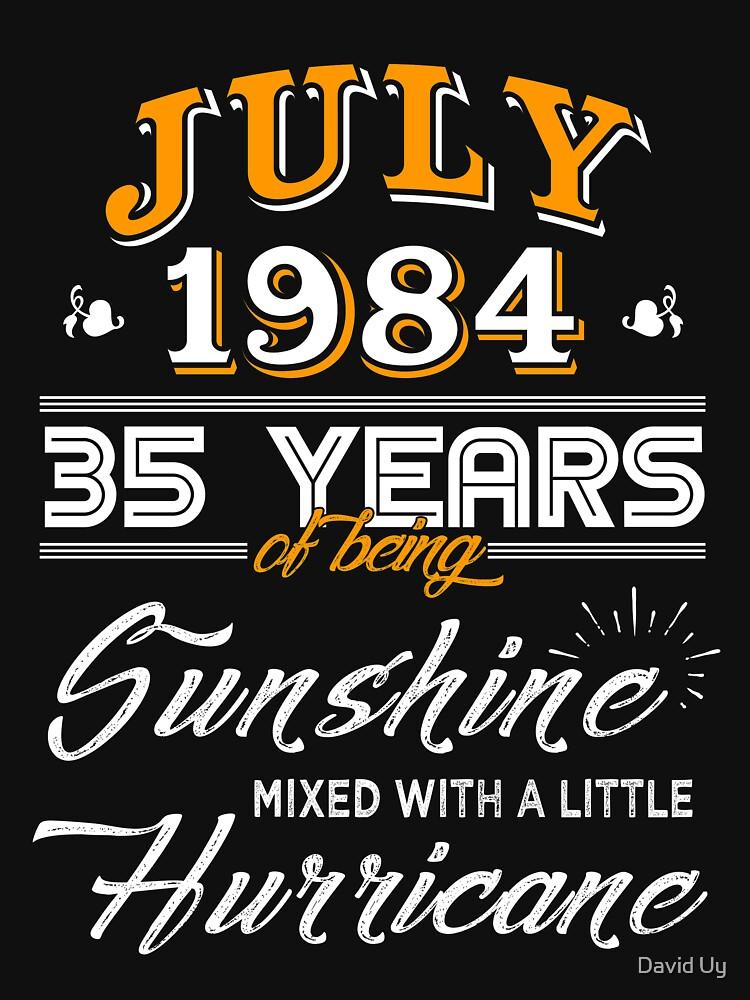 July 1984 Birthday Gifts - July 1984 Celebration Gifts - Awesome Since July 1984 by daviduy