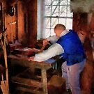 Woodworker - The master carpenter by Mike  Savad