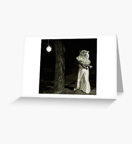 Lady Tigress Greeting Card