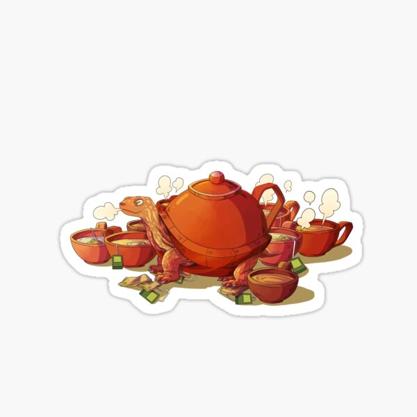 Teaturtle Sticker