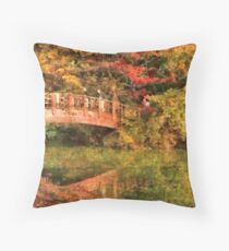 Bridge - Asian Delight Throw Pillow