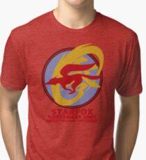 Mercenary Unit - Starfox Tri-blend T-Shirt