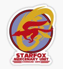 Mercenary Unit - Starfox Sticker