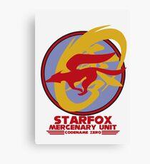 Mercenary Unit - Starfox Canvas Print