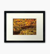 Bridge - The hidden bridge Framed Print
