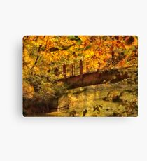 Bridge - The hidden bridge Canvas Print