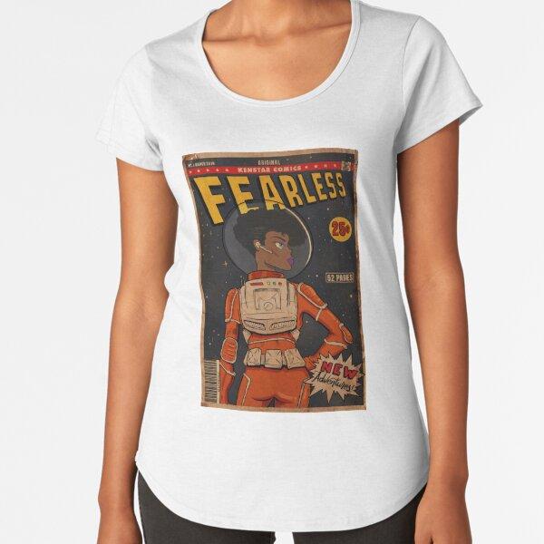 Sans peur T-shirt premium échancré