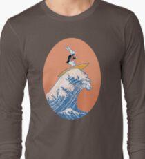 White Rabbit Surfing Long Sleeve T-Shirt