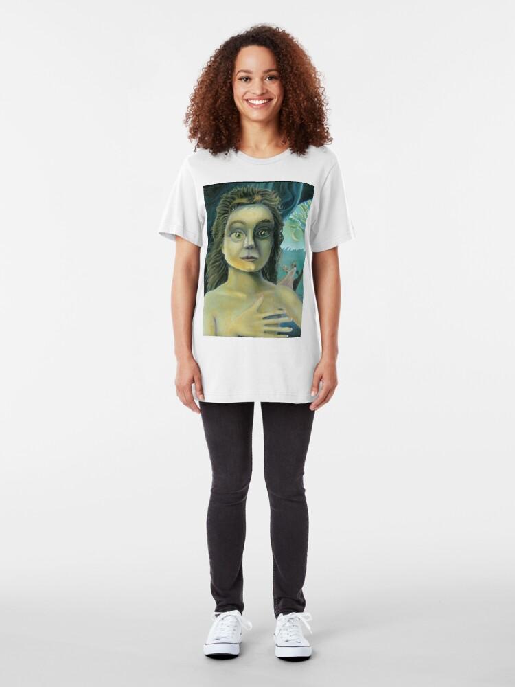 Alternate view of Pandora Slim Fit T-Shirt