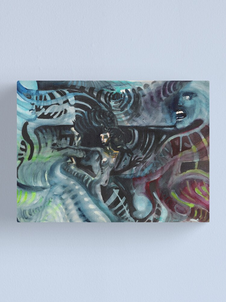 Alternate view of Waves Canvas Print